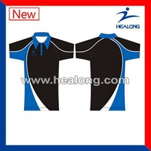 Healong Dye Sublimation Fluorescent Baby Clothes Polo