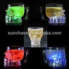 Hottest Led light up skull mug for halloween