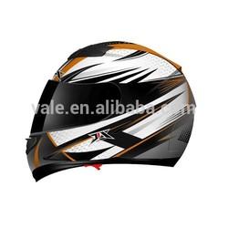 A quality motorcycle full face sun visor double glasses helmet