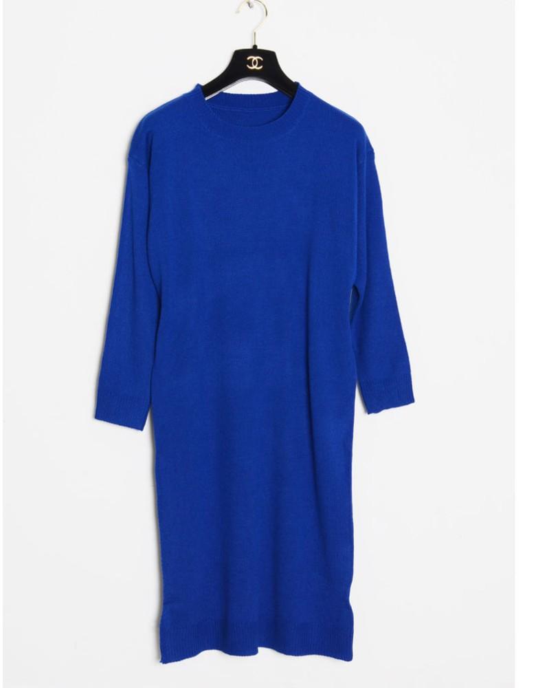 2015 High Fashion Knitting Pattern Women Sweater Dress - Buy Sweater Dress,Wo...