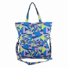 Ladies fashion printed canvas fashion bag with shoulder strap