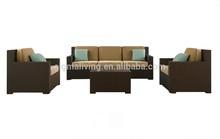 2014 Outdoor Rattan Furniture Patio Garden 5pcs Wicker Sofa Set For Living Room Furniture