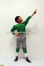 Niños superman sexy el hulk de halloween disfraces boy PLCC-1055