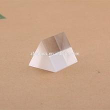 Dimensional acrylic triangular prism