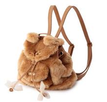 BV195 women lovely autumn winter plush ear soft shoulder bag women fashion bag