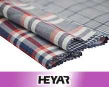 Customized Yarn Dyed Check Men's Shirting Fabrics