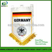 Custom printing Sports Team Pennant Soccer Pennant flags