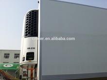 2015 hot sell cold storage truck box/refrigerator body truck, CKD roll up door truck body