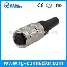 m16 6pins connectors female male,6pins connectors
