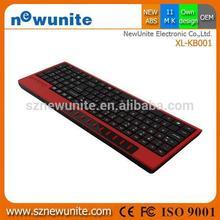 New style new coming wireless 2.4g multimedia keyboard