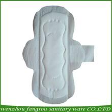 Cotton cover Sanitary napkin female napkin,sanitary napkin side effects