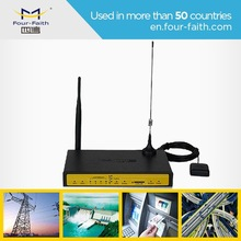 F7434 Industrial rugged 3g wifi router 12v with GPS,4 LAN,RS232/RS485 for Ship AIS data transmission