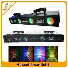 HOT SELLING Promotional rgb 4 Head Scan Laser Lights Laser Projector Christmas Dj Laser Lights for Sale