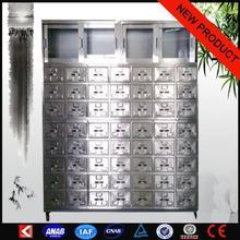 Medical hospital equipments Metal glass medical cabinet Used medical equipment australian standard sliding doors design