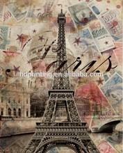 Original Eiffel Tower wall art
