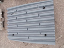 METSO LT106 jaw plate Fixed jaw, standard and Swing with Wedge upper and lower,cheek plate,bolts