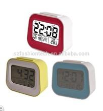 Smart Talking alarm clock, natural music LCD calender alarm clock