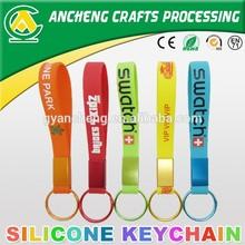 Promotional custom custom keychain,rubber keychain,silicon keychains