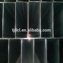 High quality Schedule 40 black Rectangular steel pipe /tube