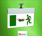Hot sale LED Plexiglas emergency exit sign (left)