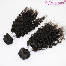 Homeage Brazilian kinky curl human hair 2014 christmas decorations