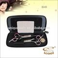 Tijeras ICOOL H-01 de 6 pulgadas para cortar y disminuir volumen, juego profesional de tijeras para el cabello