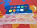 Redazione di vernici di colore disegno palette/pittura a olio di colore nomi