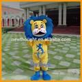 de león para adultos traje de la mascota
