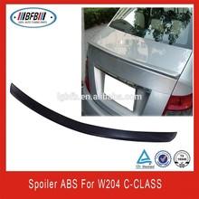 FIT FOR MERCEDES BENZ W204 C-Class Trunk Spoiler ABS PRIMER SPOILER C63 C300 C350 Sedan