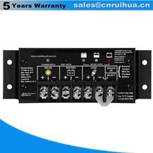 Factory direct sale easy install 10A 24V home solar power