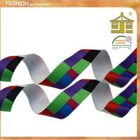 Wholesale 100% Polyester Printed Satin Ribbon/natural silk satin ribbon for party