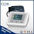 De alta precisión 3 mmhg popular fecha/tiempo omron digital medidor de presión arterial
