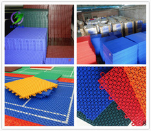 pp/pvc garage flooring interlocking tiles