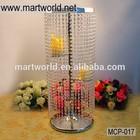 Latest crystal wedding centerpiece ,wedding candalbra wedding decoration ,party ,home & hotel decoration MCP-017