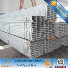 Galvanized tube square shape export to Saudi Arabia by bulk ship