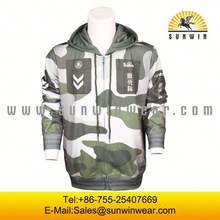 high quality hot sale full printing sublimation sweat shirt hooded
