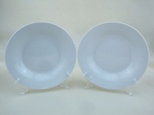 Chinaware porcelain soup plate 9 inch for hotel and restaurant