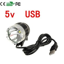 Camping CREE XML T6 USB Port LED Headlamp Lighting Headlight Flashlight Head Lamp Bike Bicycle Light