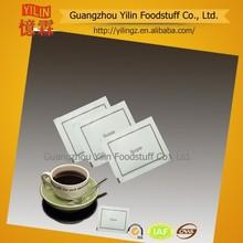 5g rafine düzenli beyaz şeker poşet anlık çay veya kahve veya havayolu kullanım