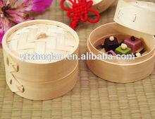20cm chocalate use bamboo basket weaving electric bamboo steamer food use