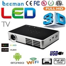 professional full hd led projector 1080p 3d shutter mini dlp projector phone android projector