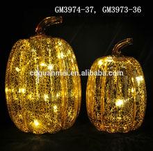 Canned halloween pumpkin light decorations