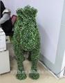 Navidad del topiary aire libre artificial de plástico figuras de animales de la navidad del caballo adornos adornos de caballos