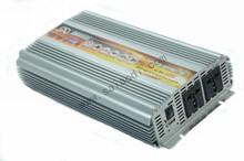 2000w power inverter 12v 220v solar inverte with battery function dc to ac single phase with US, UK universal plug