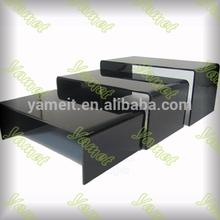latest modern acrylic end table display