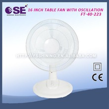 2015 new hot-selling electric table/desk fan cheap electric desk fan latest model table fan with CE certificate FT-40-223