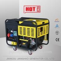 3kW Portable welding generator set Small air-cooled open type diesel generator JHF3GF