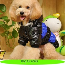 North-face dog jacket dog coat, custom leather pet coat outwear, fur coat dog