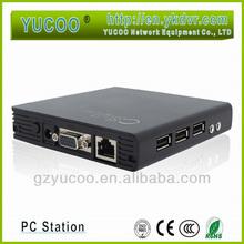 China supplier RDP 7.1 HD mini pc thin client