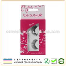 False colore eyelash box